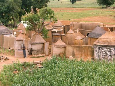 Maison / concession ninkarse. Ninkarse compound.
